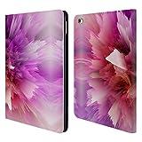 Head Case Designs Ufficiale Haroulita Fucsia Fiore Errore Astratto 4 Cover in Pelle a Portafoglio Compatibile con iPad Air 2 (2014)