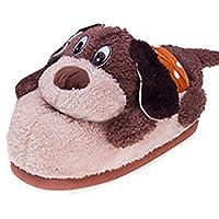YOUJIA Unisex Calde Pantofole di Peluche, Animale Cosplay Scarpe Halloween Costume Peluche pantofola Indoor - Taglia: 34-38