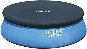 Intex 28022 Telo Di Copertura Estivo per Piscine Gonfiabile Tonde, Diametro 366 cm