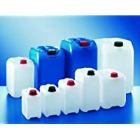 5 Liter PE-HD Industrie Kanistern ohne Kappe, Farbe Neutral