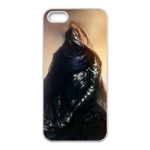 Dark Souls coque iPhone 4 4S Housse Blanc téléphone portable couverture de cas coque EBDXJKNBO15662