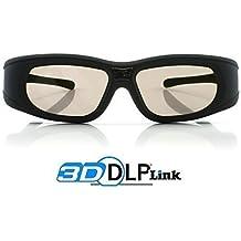 "Gafas 3D DLP-Link ""Wave Xtra"" - Full HD 1080p - 144Hz - Gafas universales compatible con todos los proyectores 3D DLP"