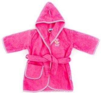 Preisvergleich Produktbild Tiseco Lief Uni Baby Bademantel für Mädchen,  0–12 Monate,  Rot