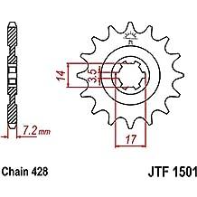 JT Motorrad Ritzel 14 Zähne Teilung 428 JTF550.14