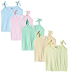 Tinycare Baby Top - Assorted Plain - Pack of 5