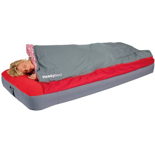 Deluxe ReadyBed - Single Adult Airbed and Sleeping Bag in one