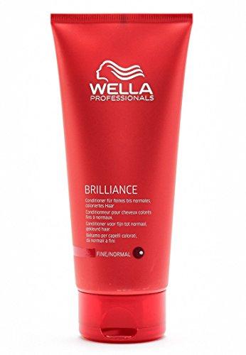 Wella Professionnals Conditionneur pour Cheveux Colorés Fins à Normaux Brilliance Normal 200ml