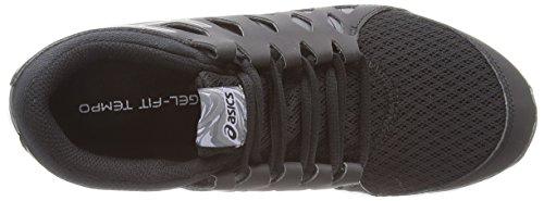 Asics Gel-fit Tempo 2, Chaussures de Running Entrainement Femme Noir (black/onyx/carbon 9099)