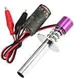 Nitro electrónico de arranque Bujía de encendedor de 1/10 RC Car HSP motor de
