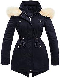 SS7 New Womens Parka Coat Ladies Faux Fur Jacket Size 8 10 12 14 16