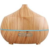 Aroma Diffuser 400ml Tenswall Luftbefeuchter Oil Düfte Humidifier Holzmaserung LED mit 7 Farben für für Yoga Salon... preisvergleich bei billige-tabletten.eu