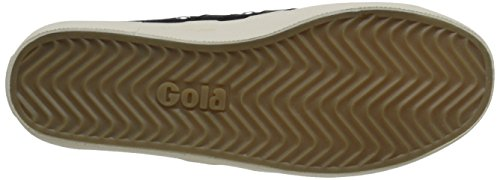 Gola - Coaster, Scarpe da ginnastica Donna Nero (Black/Black/Off White)