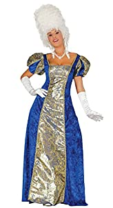 Guirca- Disfraz adulta marquesa, Talla 44-46 (88136.0)