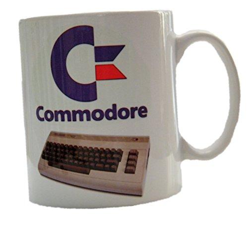 Commodore Tasse, 64, C64, Amiga 500, ordinateur, Geek, Nerd 70s informatique