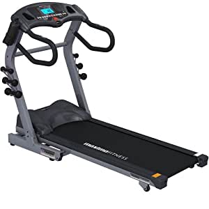 Maxima Fitness MF-2000-ProFX.Evolution-B Auto Incline Folding Home Use Treadmill - Grey/Black, Medium