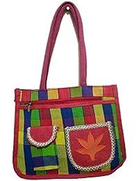 DSK Enterprise Jute Multi Color 11.5L*15w+4inch Box Eco Friendly Jute Bag (DSKE-11)