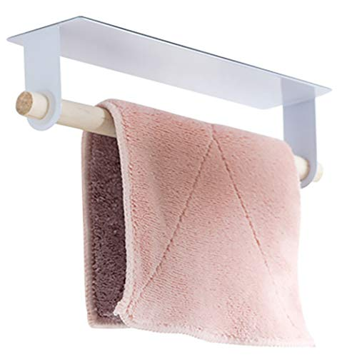 Justdolife Toilettenpapierhalter Selbstklebende Papierrollenhalter Handtuchhalter
