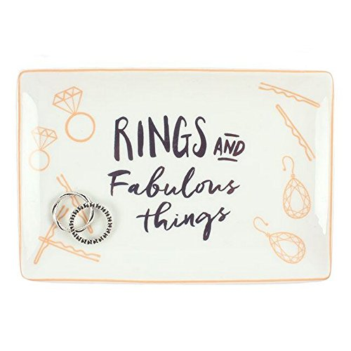 Something Different Schmuckschale Rings And Fabulous Things (Einheitsgröße) (Weiß)
