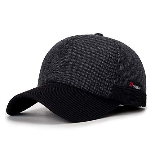 Imagen de wetoo  de béisbol de algodón vintage orejera para hombres cálido invierno clásico unisex béisbol deporte senderismo sombrero para hombres o mujeres al aire libre