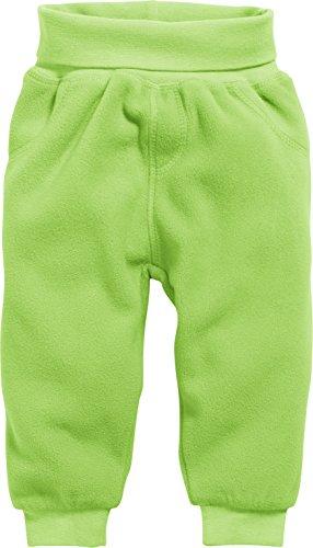 Schnizler Unisex Baby Jogginghose Pump-Hose, Fleecehose mit Strickbund, Grün (Grün 29), 68