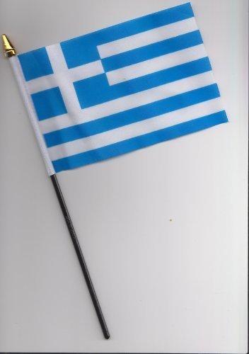 Grèce Drapeau à main 25 cm
