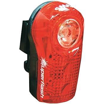 Eizur Feu Arri/ère de v/élo COB LED USB Rechargeable Imperm/éable Eclairage arri/ère Lumi/ère Puissant Lampe 8 Modes pour s/écurit/é et visibilit/é
