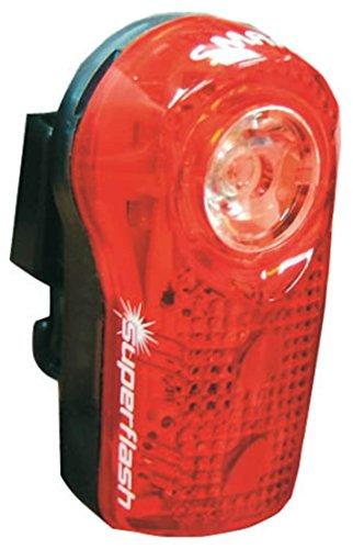 SMART Fahrrad Batteriebeleuchtung LED- Rücklicht Superflasch, RL-317R