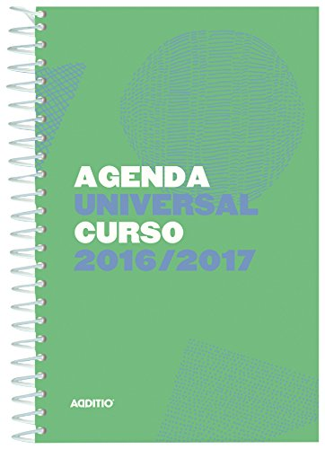 Additio A142 - Agenda Universal 2016-2017, surtido: colores aleatorios
