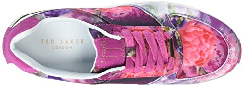 Ted Baker Damen Phressya 3 Sneaker Multicolor (Focus Bouquet)