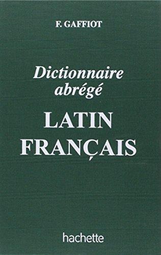 Dictionnaire abrégé latin-français