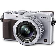 "Panasonic Lumix DMC-LX100 - Cámara compacta de 12.8 Mp (pantalla de 3"", zoom óptico 3x), plateado (importado)"