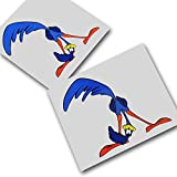 Road Runner (Kiss My BIP BIP.) Fun images personnalis?es Stickers autocollants pour moto voiture