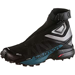 Salomon Snowcross 2 CSWP Black Reflective Silver Mallard Blue