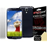 Techgear Clear LCD Screen Protector for Samsung Galaxy S4 Mini i9190/i9195 (Pack of 5)