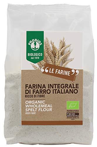Probios Farina di Farro Integrale 6 pezzi da 500 g