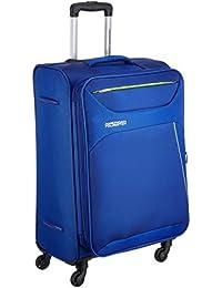 American Tourister Z-strike Polyester 56 cms Royal Blue Softsided Cabin Luggage (AMT Z-STRIKE SP56CM ROYAL BLU)