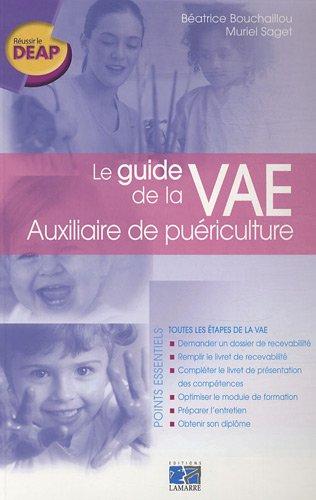 Le guide de la VAE Auxiliaire de puériculture