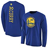 HS-ZHAOPAN Golden State Warriors # 30 Stephen Curry Basketball-Bekleidung Freizeit Langarm-T-Shirt Innen Sportbekleidung Trainingsanzug (160~190CM)
