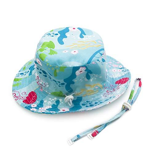Adorel Cappelli da Sole Mare Anti-UV per Neonati e Bambini