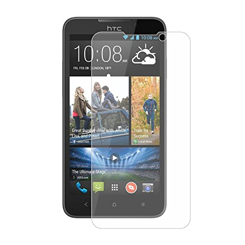 Heartly Protective 9H Hardness Nanometer Anti Explosion Tempered Glass Screen Guard Protector For HTC Desire 516 Dual Sim  available at amazon for Rs.199