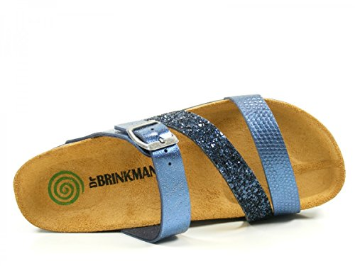 Dr. Brinkmann 701078 Blau Zuecos De Mujer