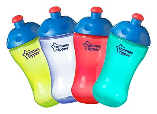 Price comparison product image Freeflow sports bottle Tommee Tippee 300ml capacity Bpa free age 12m+ (red)