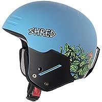 Shred Basher Noshock Casco de Esquí o Snowboard, Unisex Adulto, Dragosaurus, 51-54 cm