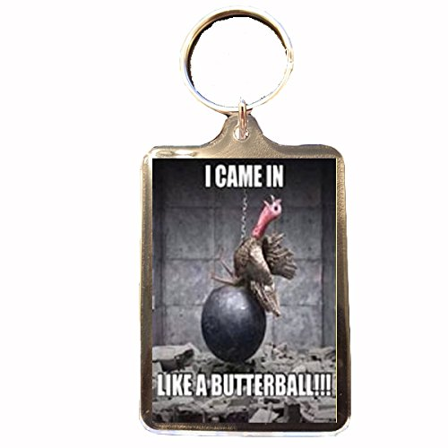 butterball-novelty-christmas-keyring