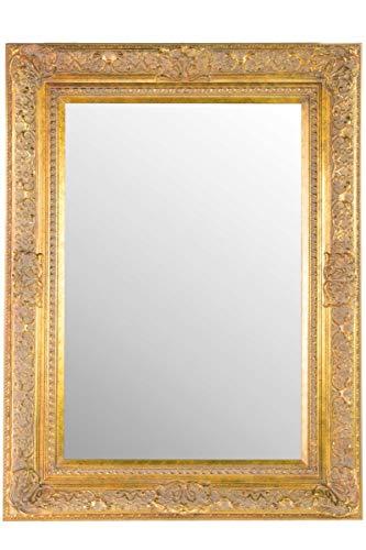 Grande oro antico ornato con rilievo in stile shabby chic con cornice da parete, con angoli smussati 101,6x 76,2cm (101cm x 76cm) eccellente qualità-pronto da appendere-ITV Show fornitore