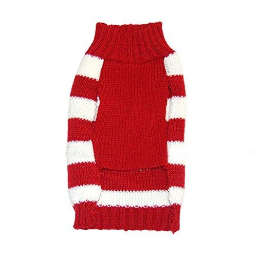 Für Rentier Kleinen Kostüm Den Hund (PRIMI 1kleine Hunde/Welpen Pullover Weihnachten Rentier bedrucktes Kostüm für Pet)