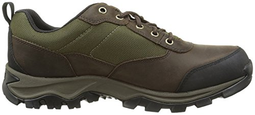 Timberland Keel Ridge Waterproof Fabric and Leather, Richelieus Homme Marron (Dark Brown Fg 242)