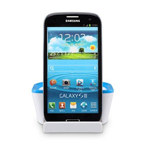Tablet e Smartphone Supporto & ripiano antiscivolo visuale perfetta iPhone Samsung Galaxy iPad-1anno garanzia soddisfazione 100%