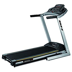 411IxxJGEvL. SS300  - BH Fitness PIONEER JOG DUAL G6482. 1-16 km/h. No more excuses to get in shape! Foldable motorised treadmill. Incline 10%. Compatible with smartphone or tablet. Ultra-compact. Metallic