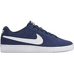 Nike Court Royale Suede Zapatillas de tenis Hombre, Azul (Midnight Navy / White), 42 EU